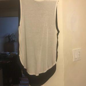 Haute Hippie asymmetrical blouse